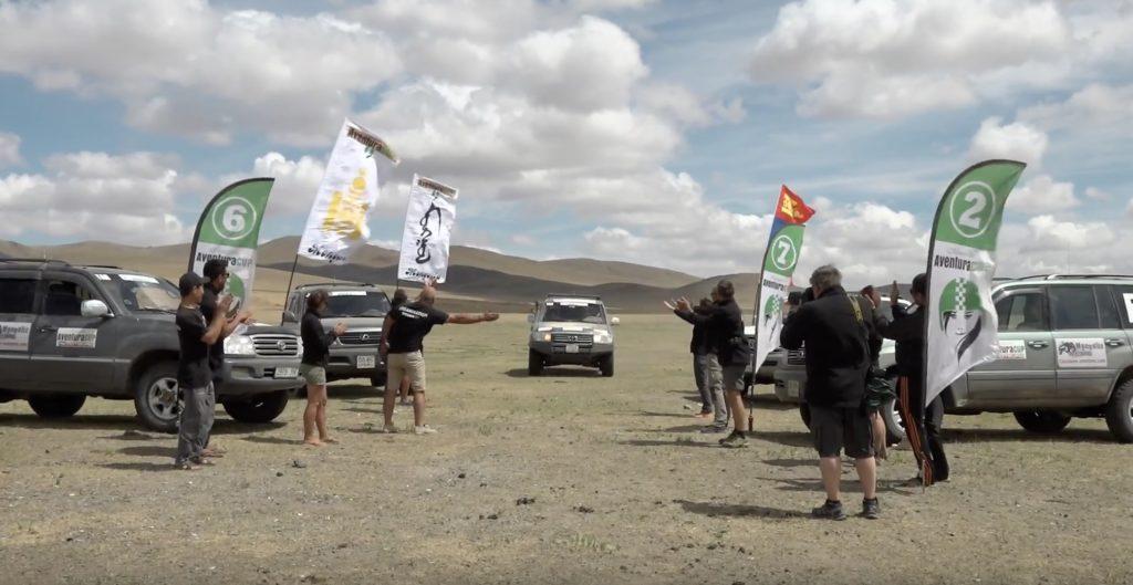 Aventura CUp en Mongole AWT sponsore de l'équipage 160, Team Isatis