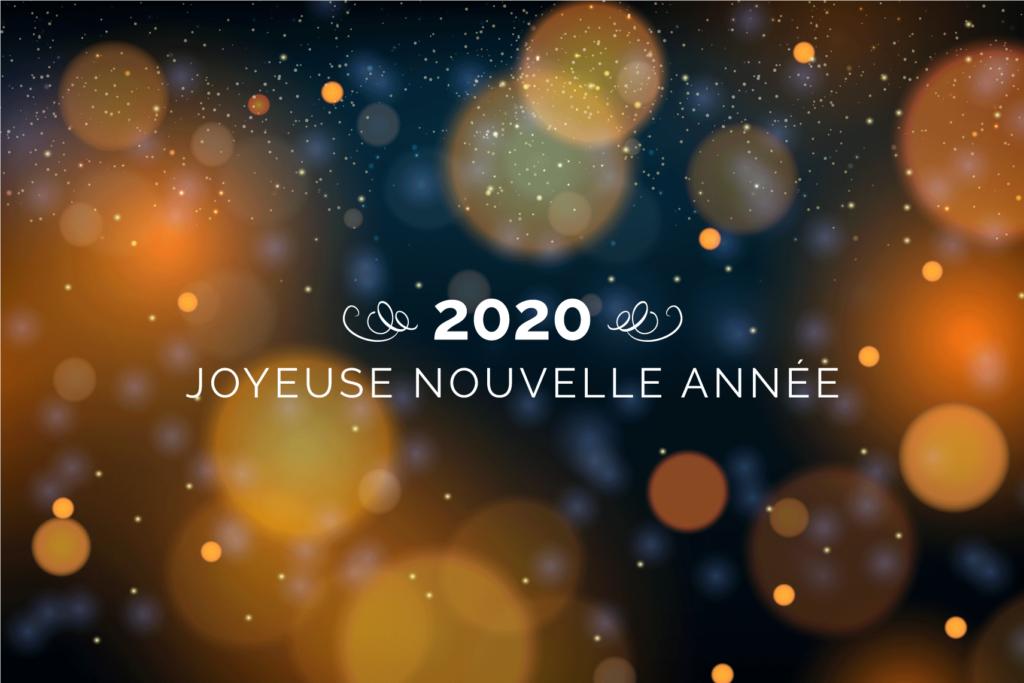 Voeux pour la nouvelle année 2020 de l'Agence Web Tarn