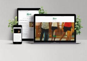 Le nouveau site internet de Laure SALVIAC par l'Agence Web Tarn